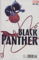 Black Panther (2016-2017) #1 Variant D: Baby Cover