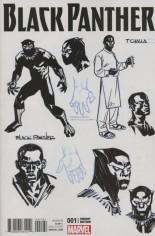 Black Panther (2016-2017) #1 Variant H: Incentive Design Variant Cover