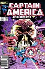 Captain America (1968-1996) #288 Variant C: 75 Cent Variant