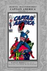 Marvel Masterworks: Captain America (2003-Present) #HC Vol 3 Variant A: Silver Dust Jacket