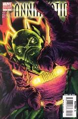 Annihilation (2006-2007) #1 Variant B: Annihilus Variant Cover
