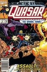 Quasar Special (1992) #1 Variant A: Newsstand Edition; This is a ''temporary'' Mass Market supplement series for the then Direct Market exclusive ''Quasar (1989-1994)'' #32