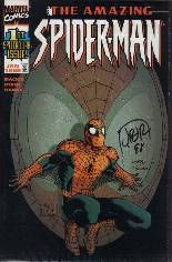 Amazing Spider-Man (1999-2014) #1 Variant F: DF Signed Edition; Signed by John Romita, Jr.; Limited to 7500 Copies