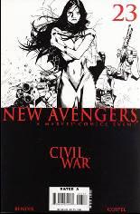 New Avengers (2005-2010) #23 Variant B: Baltimore Comicon/Toronto Comicon DF Exclusive Sketch Cover