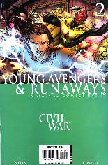Civil War: Young Avengers & Runaways #2 Variant B: Direct Edition