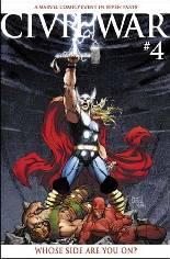 Civil War (2006-2007) #4 Variant B: Variant Cover