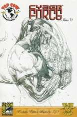 Cyberforce (2006) #0 Variant B: SDCC Exclusive Sketch Cover; Limited to 750 Copies