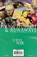 Civil War: Young Avengers & Runaways #3 Variant B: Direct Edition