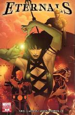 Eternals (2006-2007) #1 Variant C: Incentive Variant Cover; Limited to 10 per store