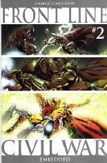 Civil War: Front Line (2006-2007) #2 Variant B: 2nd Printing
