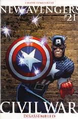 New Avengers (2005-2010) #21 Variant B: 2nd Printing