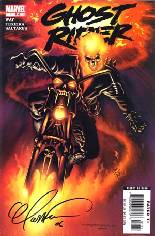 Ghost Rider (2006-2009) #1 Variant D: DF Signed Edition; Signed by Mark Texeira