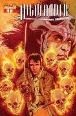 Highlander (2006-2007) #1 Variant F: Immortal Gold Foil Cover