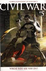 Civil War (2006-2007) #5 Variant B: Variant Cover