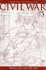 Civil War (2006-2007) #5 Variant C: Variant Sketch Cover