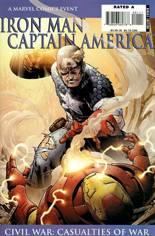 Iron Man/Captain America: Casualties of War (2007) #1 Variant B: Captain America Cover
