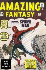 Amazing Fantasy (1962, 1995-1996) #15 Variant D: Marvel Legends Spider-Man Classics Series II Reprint Packaged w/ Spider-Man