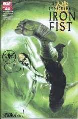 Immortal Iron Fist (2007-2009) #1 Variant C: 2nd Printing