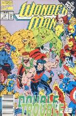 Wonder Man (1991-1994) #13 Variant A: Newsstand Edition