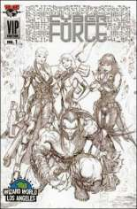 Cyberforce (2006) #1 Variant H: WWLA Exclusive VIP Sketch Cover