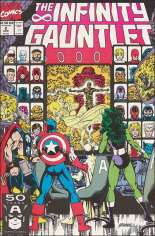 Infinity Gauntlet (1991) #2 Variant B: Direct Edition