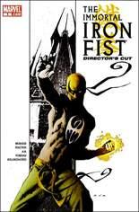 Immortal Iron Fist (2007-2009) #1 Variant D: Director's Cut; Reprints Iron Fist story from Civil War: Choosing Sides