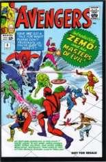 Avengers (1963-1996) #6 Variant B: Marvel Legends Series XIV Reprint Packaged w/ Baron Zemo