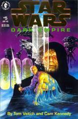 Star Wars: Dark Empire #5 Variant B: QVC Gold Foil Edition