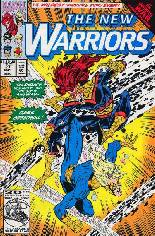 New Warriors (1990-1996) #27 Variant B: Direct Edition
