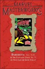 Marvel Masterworks: Daredevil (2003-Present) #HC Vol 4 Variant B: Marble Dust Jacket; Marvel Masterworks Library Vol. 74