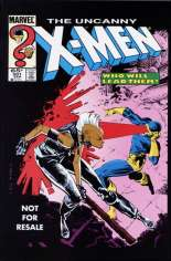 Uncanny X-Men (1963-2011) #201 Variant D: Marvel Legends Series X Reprint Packaged w/ Cyclops