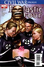 Fantastic Four (1998-2011) #543: 45th Anniversary Issue