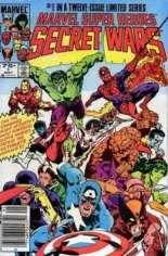 Marvel Super-Heroes Secret Wars (1984-1985) #1 Variant A: Newsstand Edition