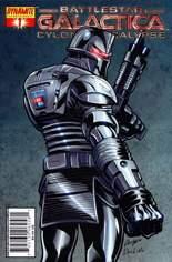 Battlestar Galactica: Cylon Apocalypse #1 Variant B