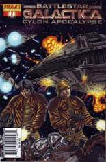 Battlestar Galactica: Cylon Apocalypse #1 Variant D