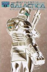 Battlestar Galactica: Cylon Apocalypse #1 Variant E: Incentive Negative Cover