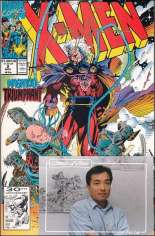 X-Men (1991-2001, 2004-2008) #2 Variant D: Comic X-Press Signed Edition; Signed by Jim Lee