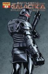 Battlestar Galactica: Cylon Apocalypse #1 Variant G: Foil Cover