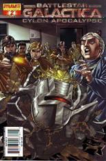 Battlestar Galactica: Cylon Apocalypse #2 Variant D