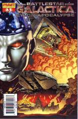 Battlestar Galactica: Cylon Apocalypse #3 Variant A