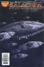 Battlestar Galactica: Cylon Apocalypse #3 Variant B