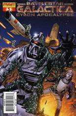 Battlestar Galactica: Cylon Apocalypse #3 Variant D