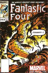 Fantastic Four (1961-1996) #263 Variant C: Marvel Legends Series II Reprint Packaged w/ Thing
