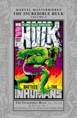 Marvel Masterworks: The Incredible Hulk (2003-Present) #HC Vol 4 Variant A: Silver Dust Jacket