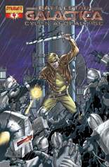 Battlestar Galactica: Cylon Apocalypse #4 Variant C