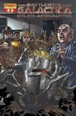 Battlestar Galactica: Cylon Apocalypse #2 Variant F: Foil Cover