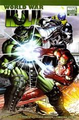 World War Hulk (2007-2008) #1 Variant B: 1:25 Retailer Incentive Variant