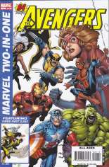 Marvel Two-In-One (2007-2009) #1 Variant B: Direct Edition