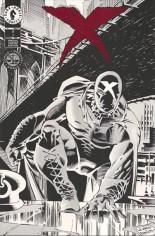 X (1994-1996) #1 Variant B: Black & White Cover