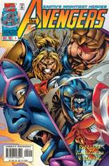 Avengers (1996-1997) #2 Variant B: Direct Edition